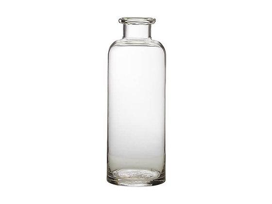 Flourish Bottle Vase 34cm Clear