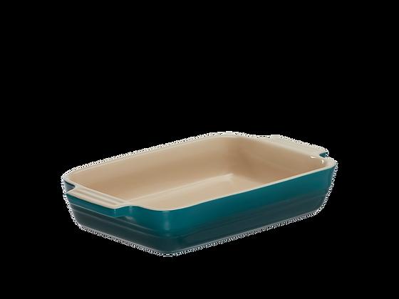 Heritage Deep Rectangular Dish 32 - Coastal Blue