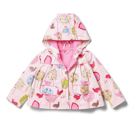 Chirpy Bird Raincoat (7-8)