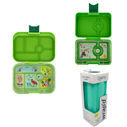 GREEN Wrapd and Yumbox Original Bundle
