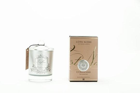 185 Orangerie - SILVER Candle