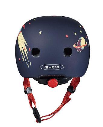 Micro Kids Pattern Helmet - Rocket (Xsmall)