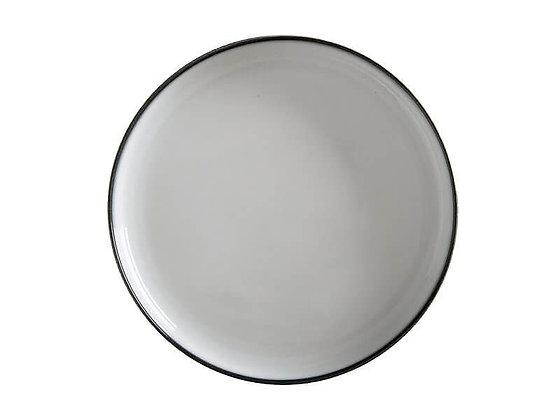 Caviar High Rim Platter 33cm Granite