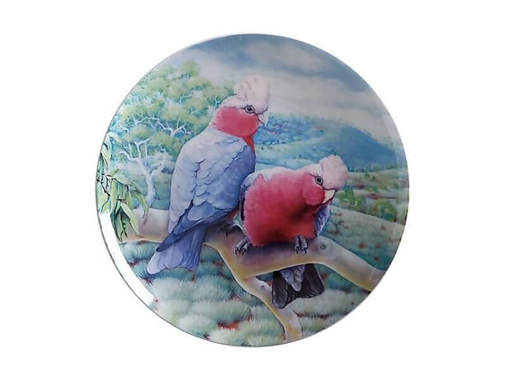 Birds of Australia 10 year Anniversary Plate 20cm Galah