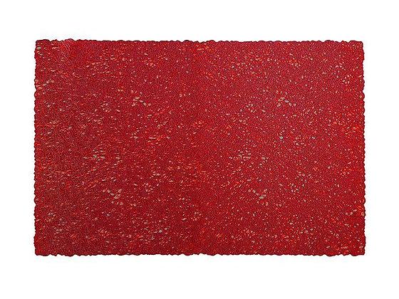 Glitz PVC Placemat 45x30cm Red