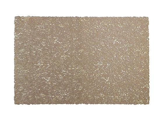 Glitz PVC Placemat 45x30cm Gold