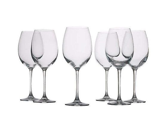 Mansion Red Wine Glasses 360ML Set 6