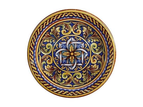 Ceramica Salerno Plate 20cm Duomo