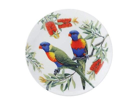 Cashmere Birdsong Plate 20cm Lorikeet
