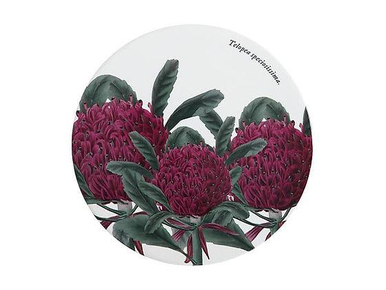 Royal Botanic Gardens Ceramic Round Trivet 20cm Telopea