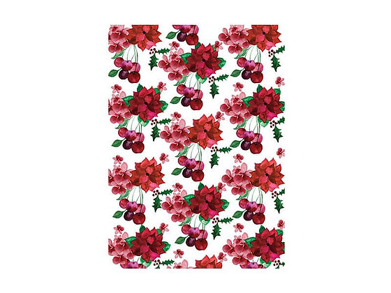Poinsettia Tea Towel 50x70cm