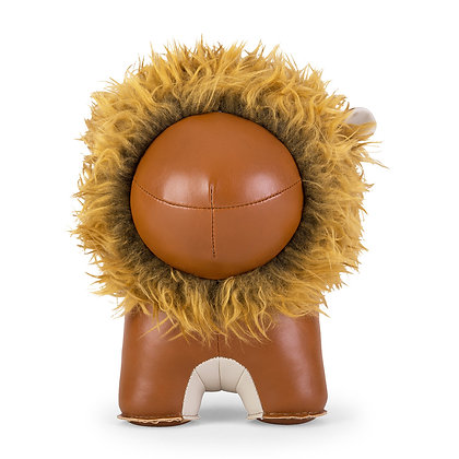 Doorstop Lion Tan