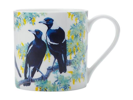 Cashmere Birdsong Mug 350ML Magpie