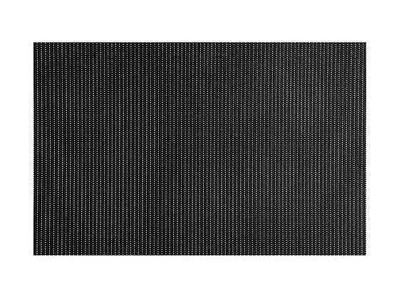 Glimmer Placemat Black 45x30cm