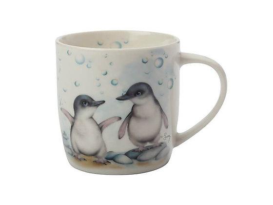 Sally Howell Mug Penguins