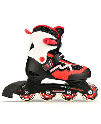 Micro Majority Skates - Red (EU 23-26)