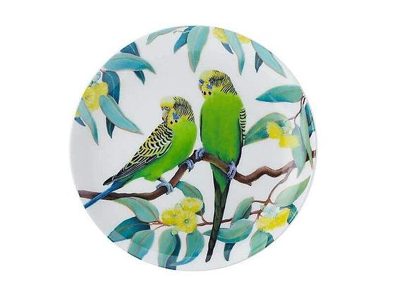 Cashmere Birdsong Plate 20cm Budgie