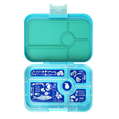 ANTIBES BLUE Yumbox Tapas - 5 Compartment