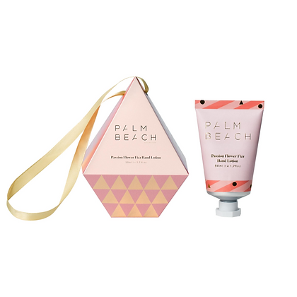 Hanging Bauble - 50ml Hand Lotion - Passion Flower Fizz