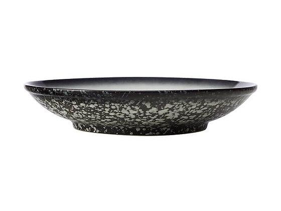 Caviar Footed Bowl 25cm Granite