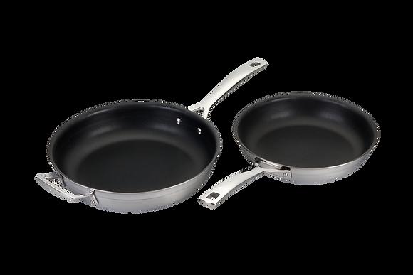 3Ply 2 Piece Frying Pan Set non stick (24 & 28)