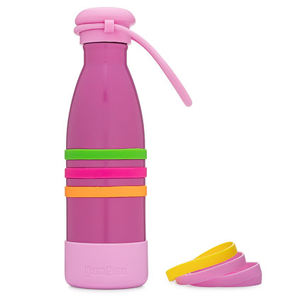 PACIFIC PINK Yumbox Aqua Insulated Drink Bottle