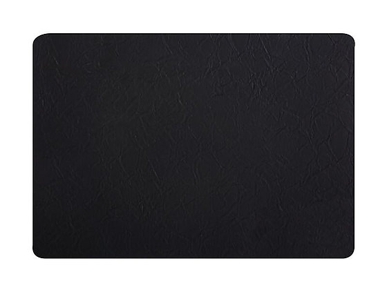 Placemat 43x30cm Leather look Black