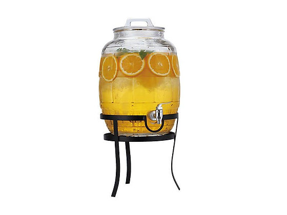 Barrel Drink Dispenser with Stand 10L Gift Boxed