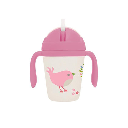 Bamboo Sippy Cup - Chirpy Bird