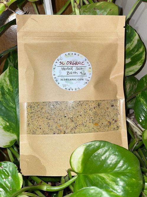 Herbal Salt Bath