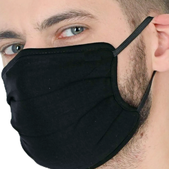Unisex Mask With Adjustable Ear Loops