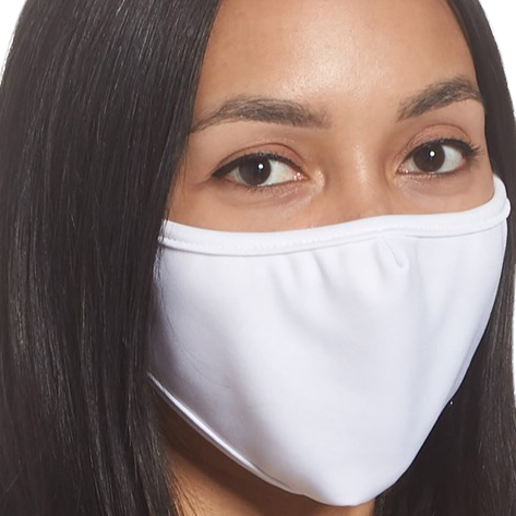 Single Layer Fabric Face Mask