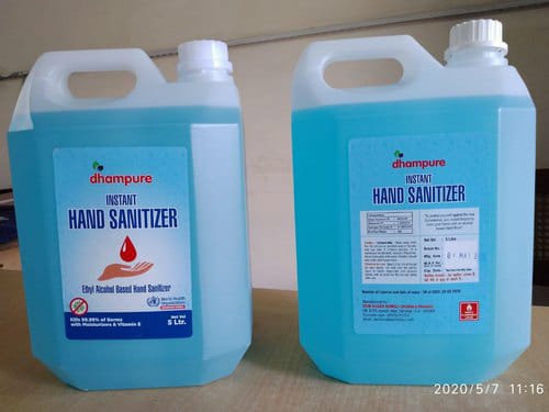 Dhampure Hand Sanitizer- 5Ltrs