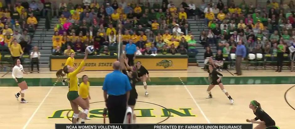 NCAA Division #1 NDSU Volleyball MBJA AWARD