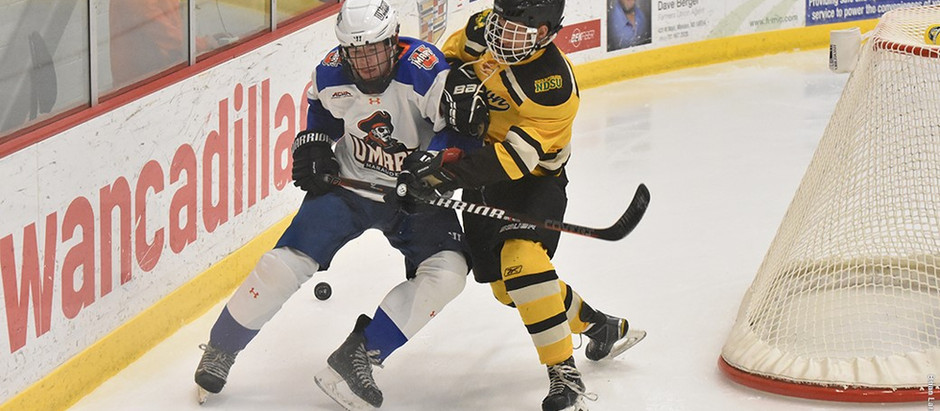 UMary Hockey, Season Opener vs NDSU