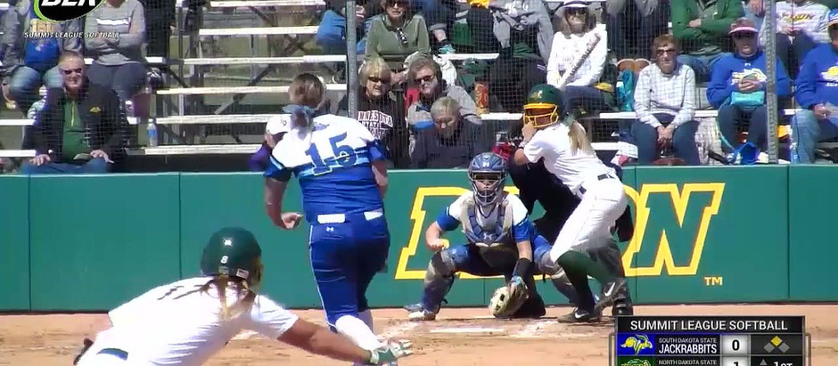 NCAA DIV. 1 / NDSU vs SDSU Softball