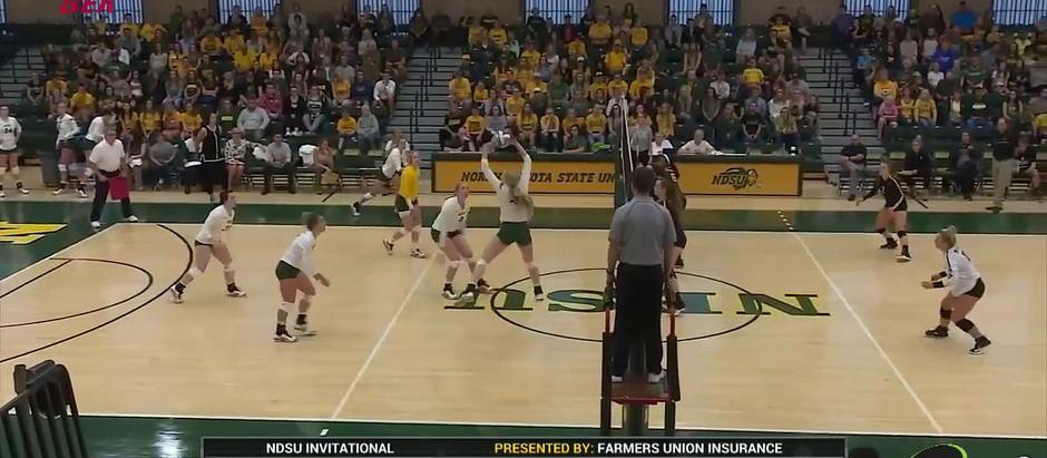 NCAA DIV.1 Volleyball / Appalachian State vs. NDSU