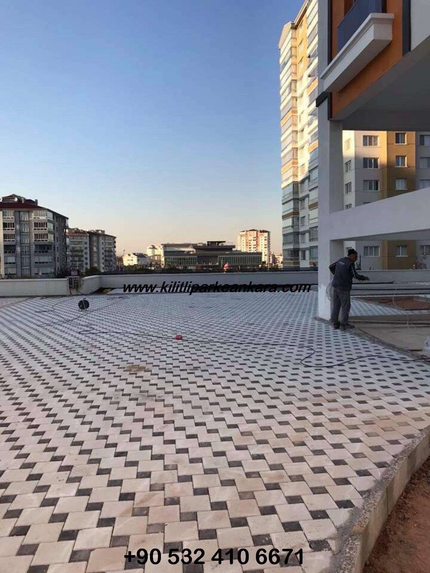 Ankara Kilit Taşı - Kilitli Parke Taşı Ustası (004)
