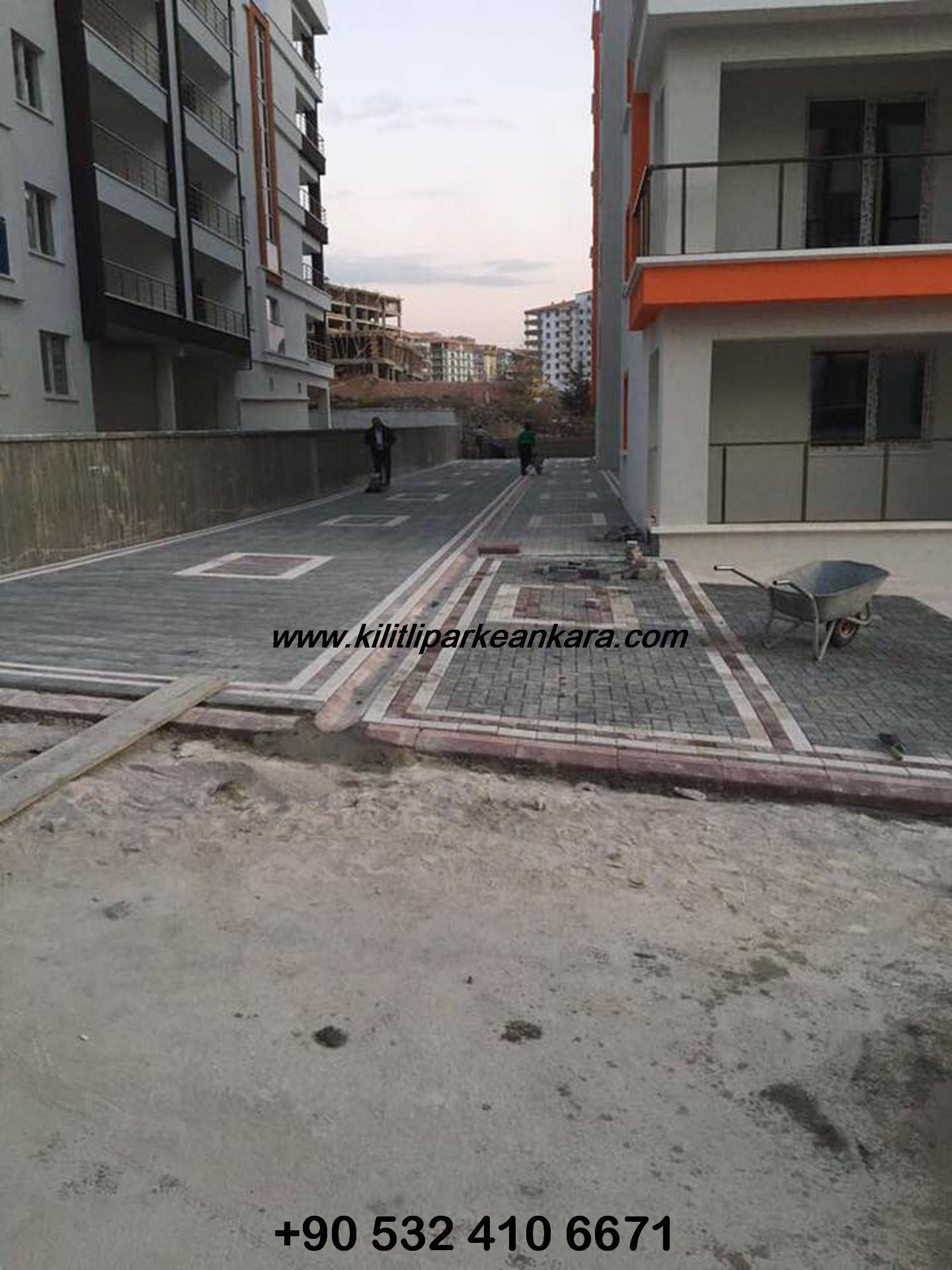 Ankara Kilit Taşı - Kilitli Parke Taşı Ustası (009)
