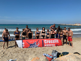 CrossFit Phocéa Beach Marseille Workout