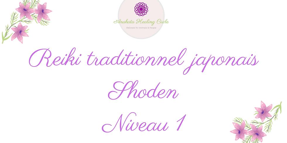 Reiki traditionnel japonais Shoden (niveau 1) en ligne
