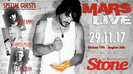 Mars LIVE im Stone