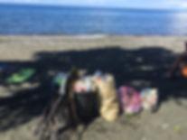 Beach clean-up Bali, nature conservancy, nature destuction, plastic invasion, nature guardians