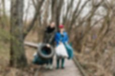 Forest clean-up, France, nature protection, nature and wildlife rescue, nature guardians