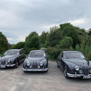Jaguar Mark II wedding car Rental