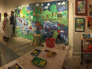 AMAZING night of Interactive COmmUNITY ARTS!!!