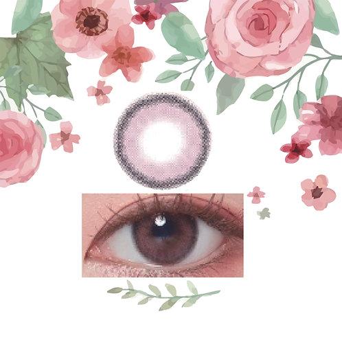 韓國LENS TOWN Lightly Rose Pink 1盒15對