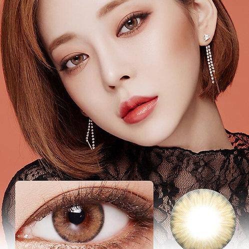 韓國 Lens Story Wonder Eyes Khaki Brown
