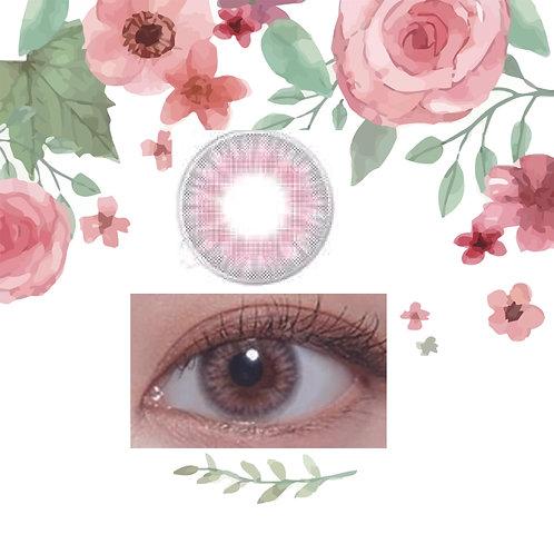 韓國LENS TOWN Lightly Pastal Pink ***散裝1對***