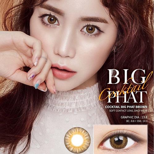 韓國Lens me Big Phat Brown